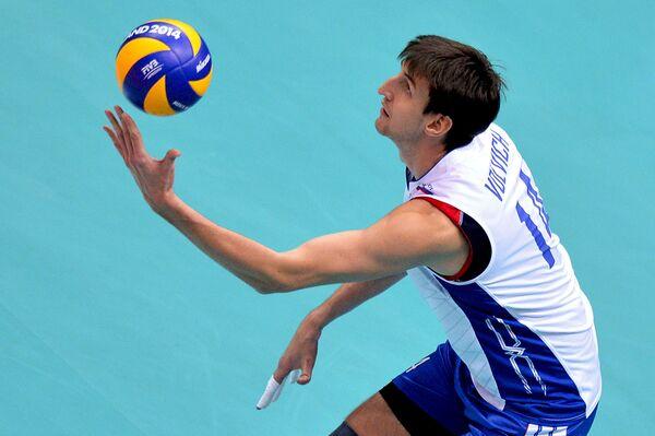 Волейболист сборной России Артем Вольвич