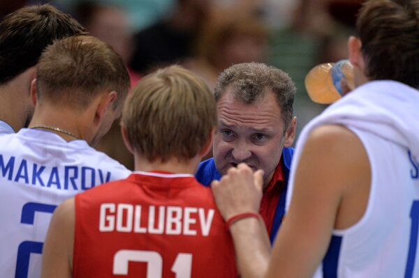 Главный тренер мужской сборной России по волейболу Андрей Воронков