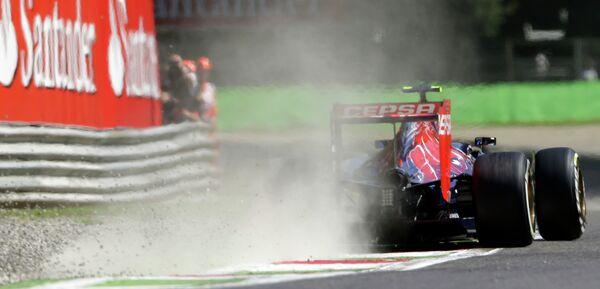 Пилот Торо Россо Даниил Квят на Гран-при Италии