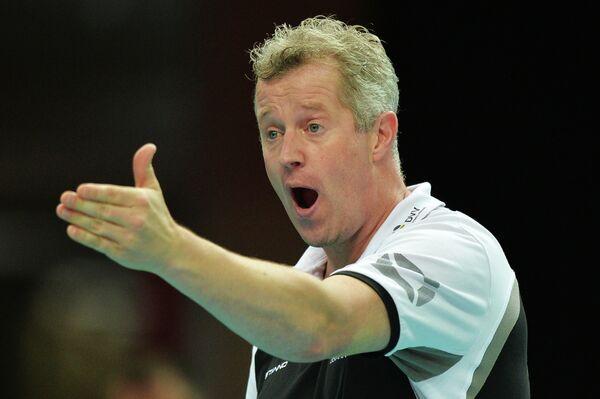 Главный тренер сборной Германии по волейболу Витал Хейнен