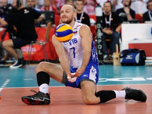 Волейболист сборной России Николай Павлов