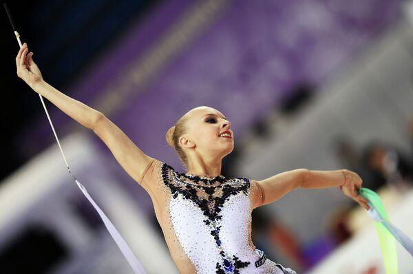 Художественная гимнастика. Яна Кудрявцева