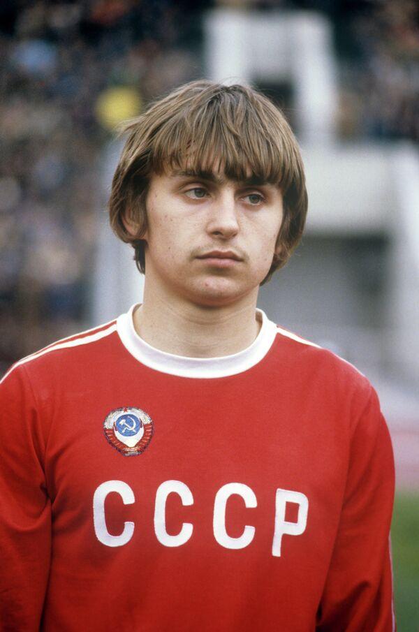 Федор Черенков - член Олимпийской сборной команды СССР по футболу