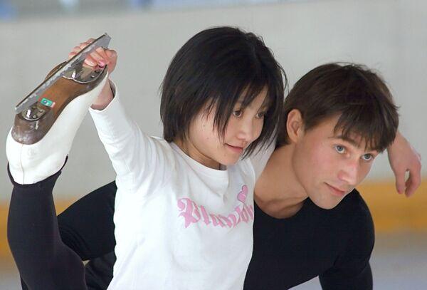 Юко Кавагути (Япония) и Александр Смирнов (Россия)