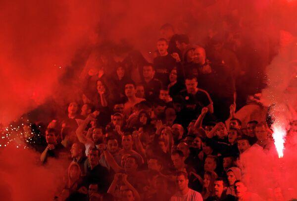 Фанаты Партизана
