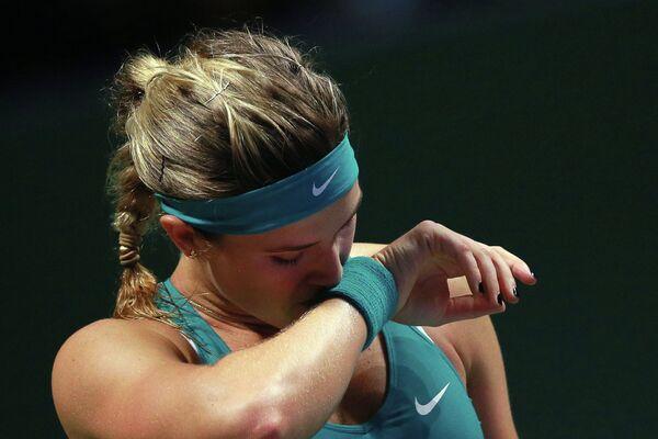 Канадская теннисистка Эжени Бушар.