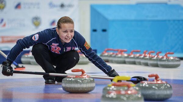Игрок сборной команды Россия-2 по керлингу Юлия Портунова