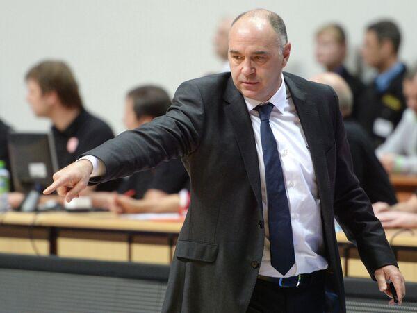 Главный тренер Реала Пабло Ласо