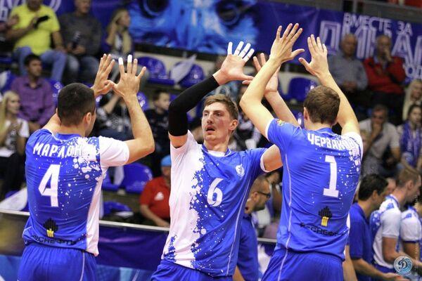 Волейболисты Динамо Краснодар