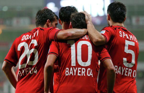 Футболисты леверкузенского Байера