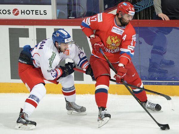 Ондржей Роман (слева) и Александр Радулов