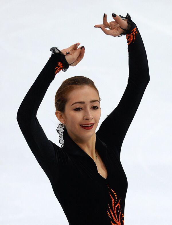 Российская фигуристка Мария Ставицкая