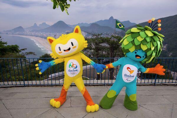 Талисманы Олимпийских игр 2016 года в Бразилии
