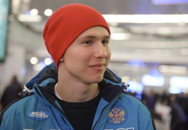 Российский конькобежец Павел Кулижников