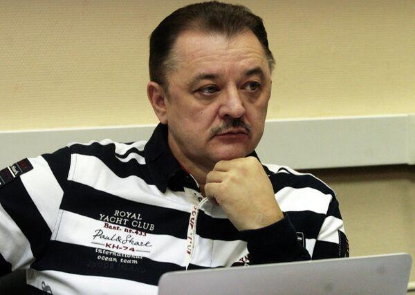 президент мини-футбольного клуба Дина (Москва) Сергей Козлов