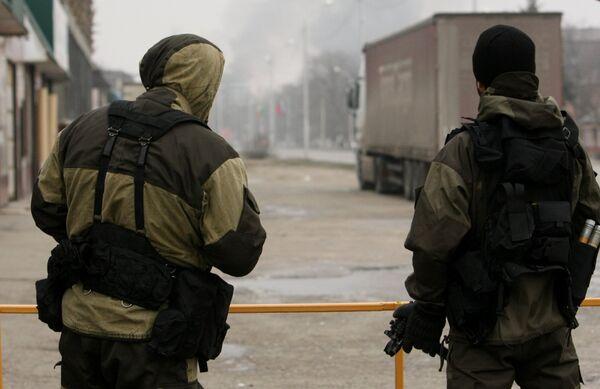 Cпецоперация в Грозном