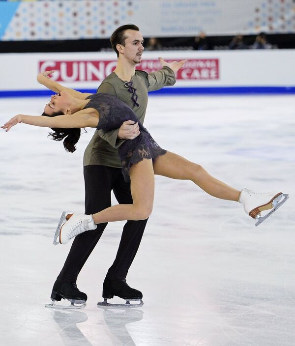 Ксения Столбова и Федор Климов (Россия)