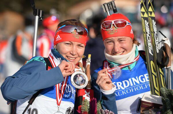 Екатерина Глазырина (слева) и Ольга Подчуфарова