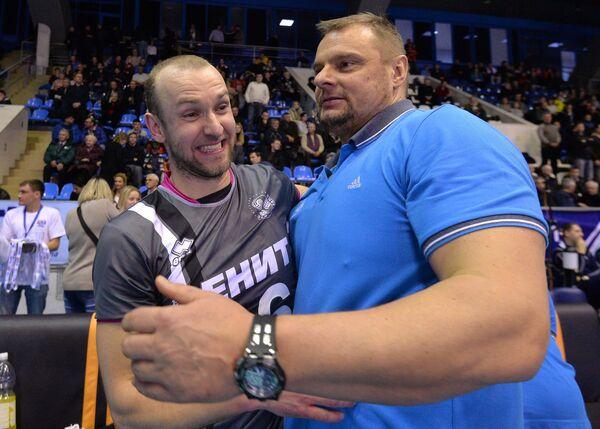Алексей Вербов (слева) и Владимир Алекно