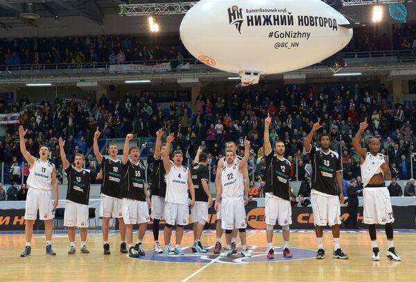 Баскетболисты Нижнего Новгорода