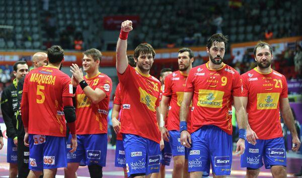 Гандболисты сборной Испании