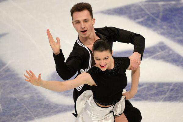 Наталья Калишек и Максим Сподырев (Польша)