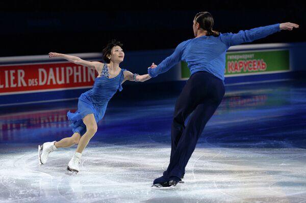 Юко Кавагути и Александр Смирнов (Россия)