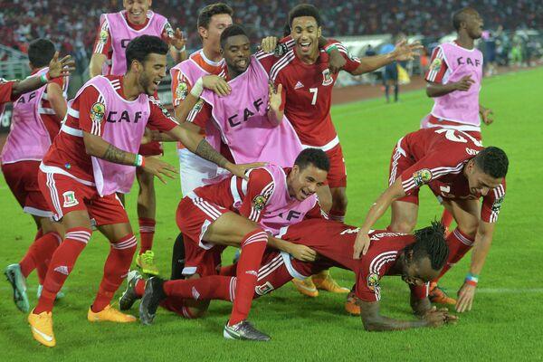 Футболисты сборной Экваториальной Гвинеи