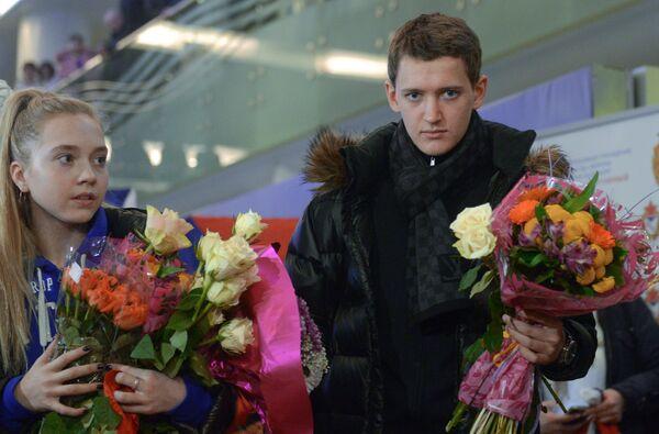 Елена Радионова и Максим Ковтун