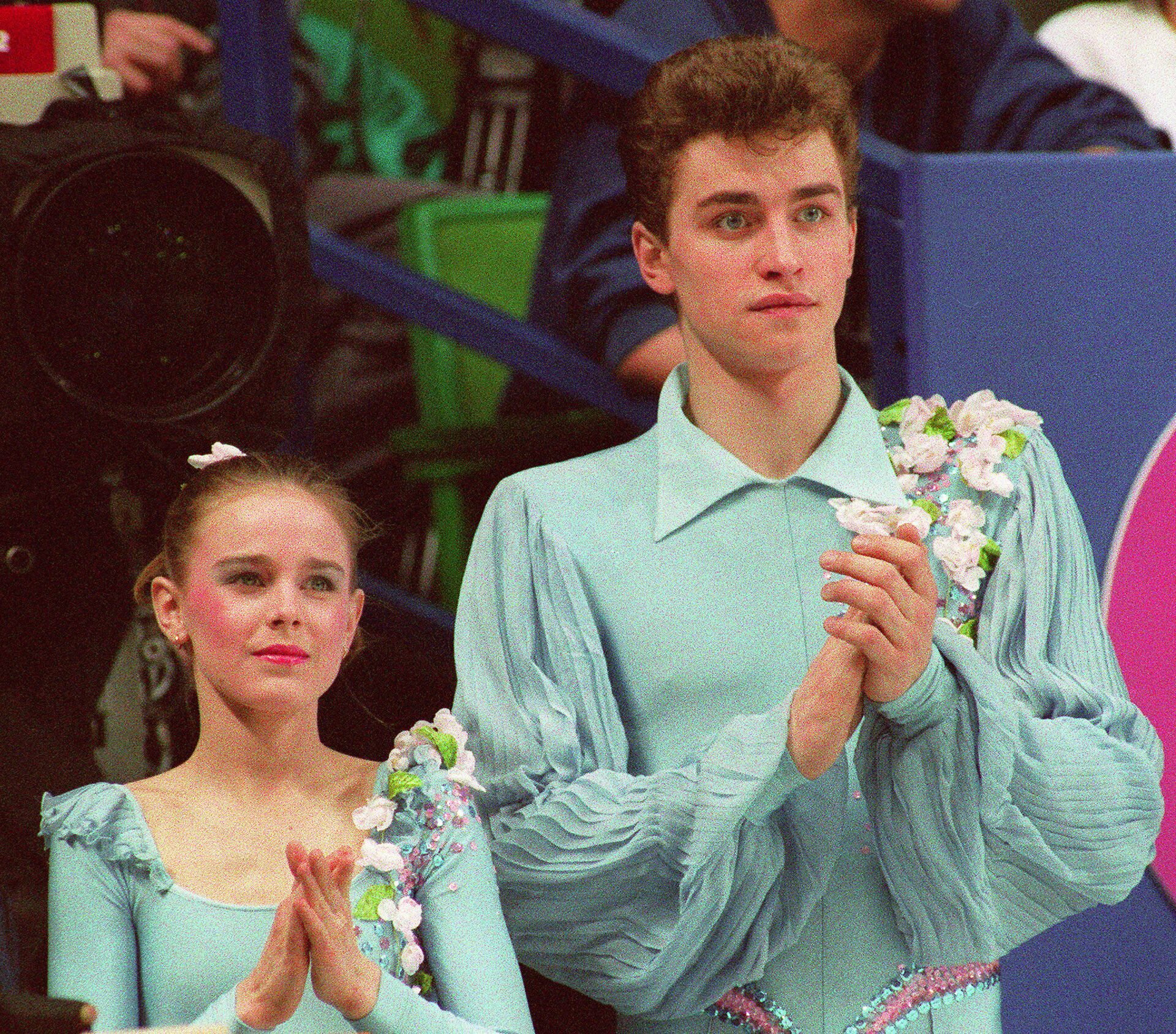 Екатерина Гордеева и Сергей Гриньков - РИА Новости, 1920, 14.02.2021
