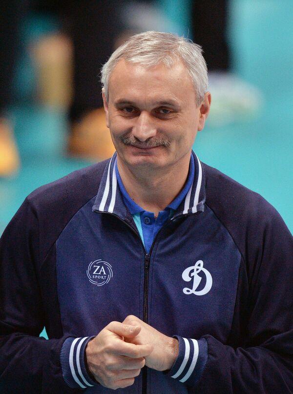 Главный тренер ВК Динамо (Москва) Юрий Маричев