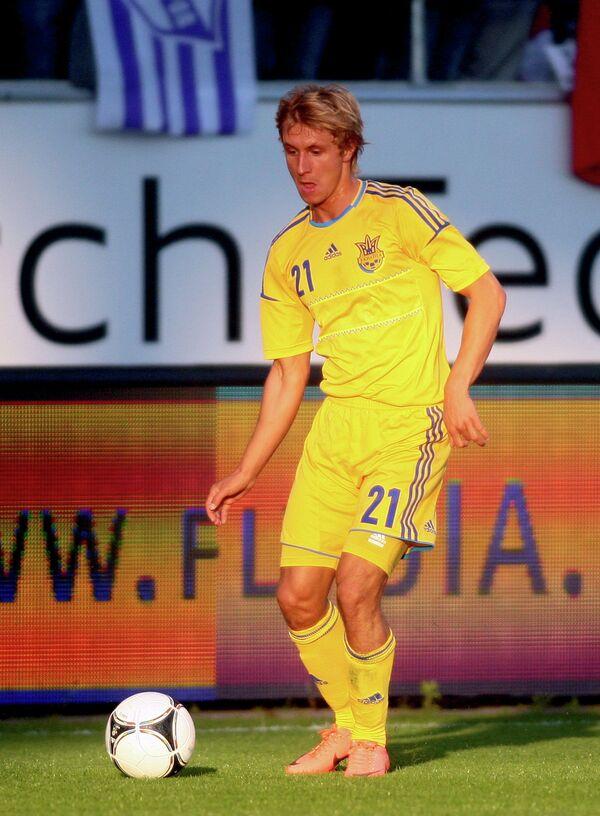Защитник сборной Украины по футболу Богдан Бутко
