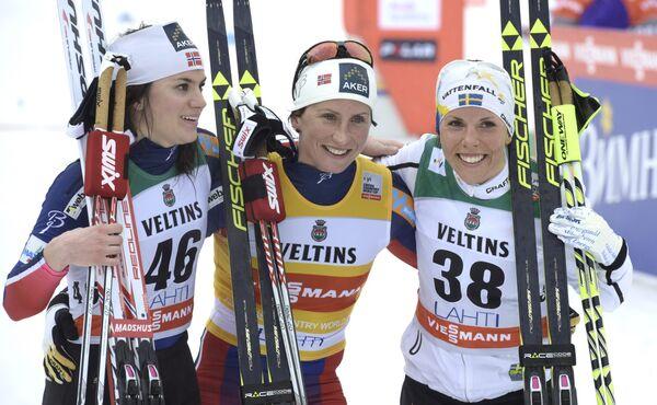 Норвежская лыжница Марит Бьерген
