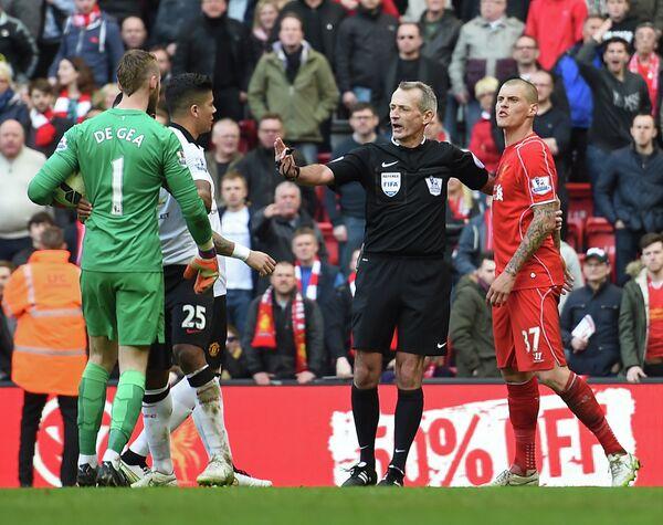 Словацкий защитник Ливерпуля и вратарь Манчестер Юнайтед Давид де Хеа