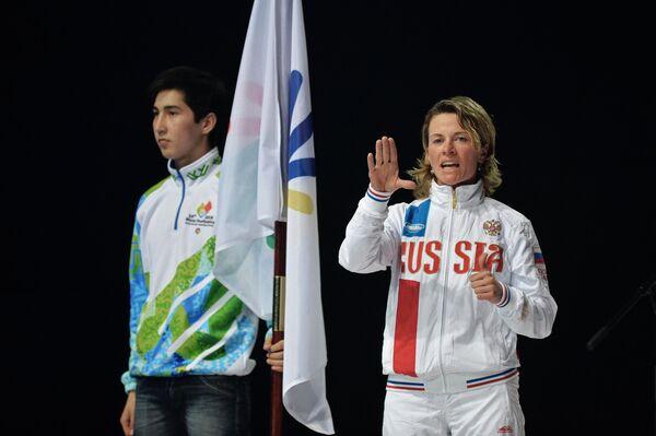 Семикратная сурдлимпийская чемпионка Анна Федулова