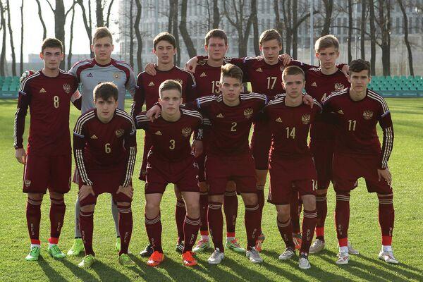 Юношеская сборная России по футболу (игроки не старше 1998 года рождения)