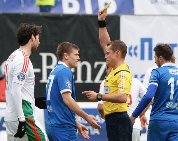 Ведран Чорлука, Игорь Денисов ,Владислав Безбородов и Алексей Ионов (слева направо)