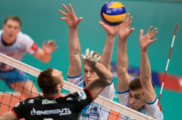 Максвелл Холт и Денис Бирюков (слева направо)