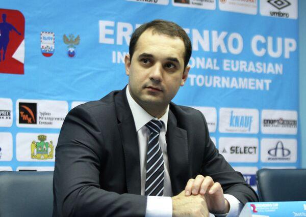 Президент Ассоциации мини-футбола России (АМФР) Эмиль Алиев