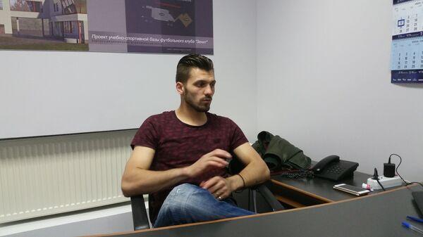 Вратарь сборной России и Зенита Юрий Лодыгин