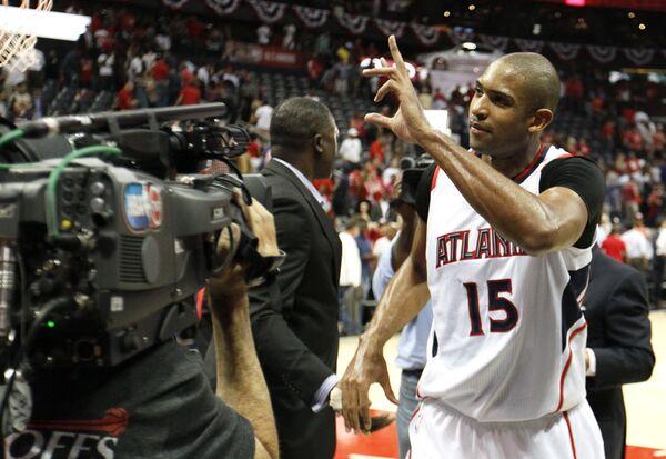 Центровой команды НБА Атланта Хокс Эл Хорфорд