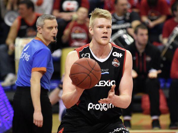 Центровой бельгийского баскетбольного клуба Шарлеруа Расмус Ларсен
