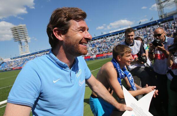 главный тренер ФК Зенит Андре Виллаш-Боаш.