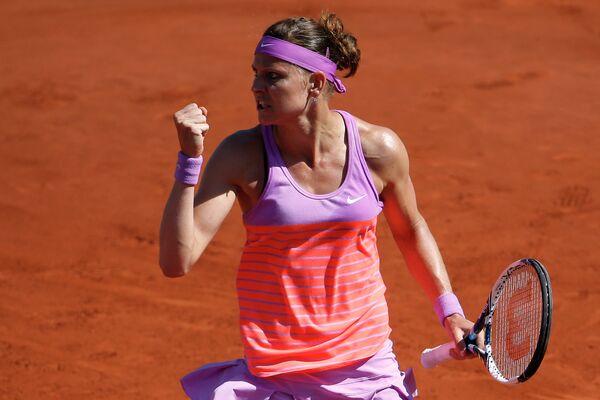 Чешская теннисистка Люция Шафаржова