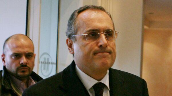Президент Лацио Клаудио Лотито