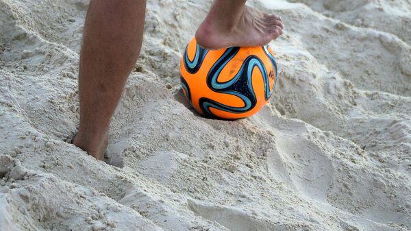 Пляжный футбол. Заглушка