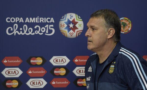 Главный тренер сборной Аргентины по футболу Херардо Мартино