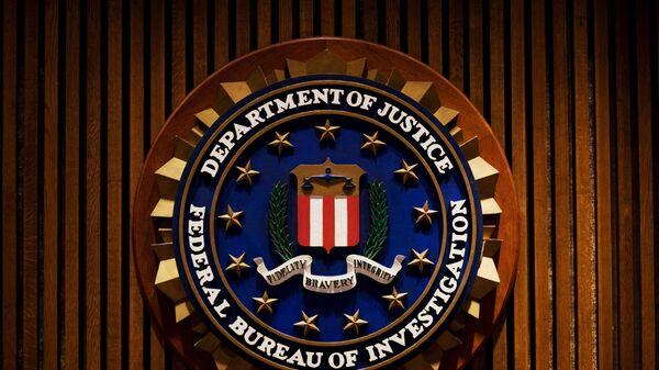 Логотип ФБР (Федеральное бюро расследований)