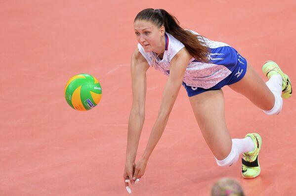 Игрок сборной России Дарья Писаренко