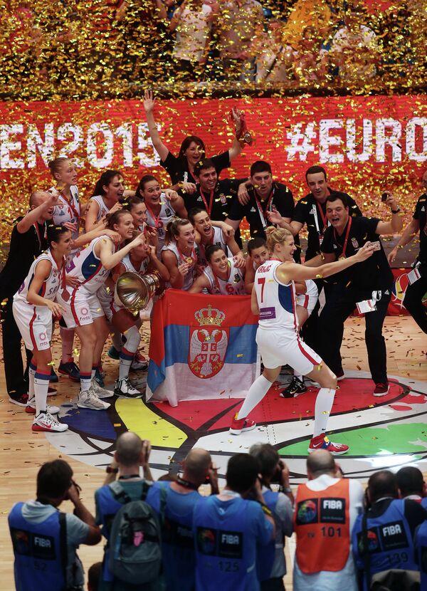 Сербские баскетболистки